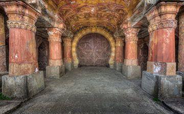 Eingang zu einem Palast. von Kristof Ven