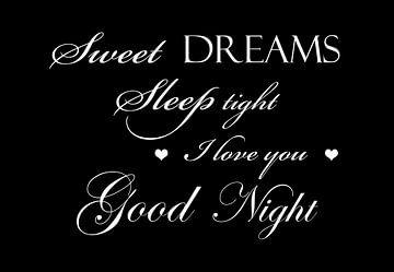 Fais de beaux rêves - Noir sur Sandra H6 Fotografie