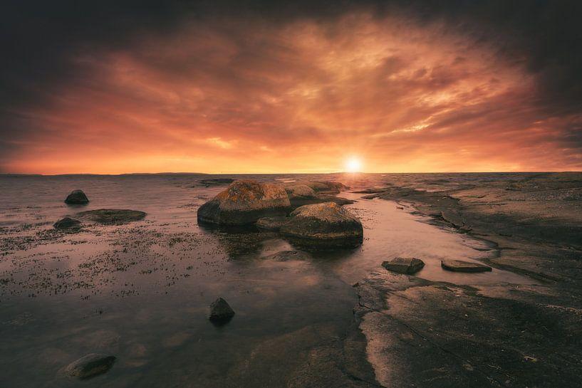 Sonneruntergang in Blekinge von Skyze Photography by André Stein