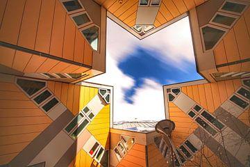 Kubus woningen van Maurice Hoogeboom