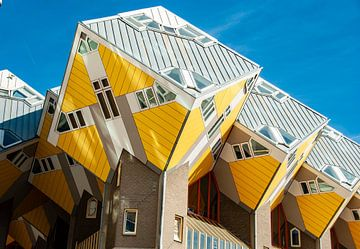 Kubuswoningen in Rotterdam sur Xandra Ribbers