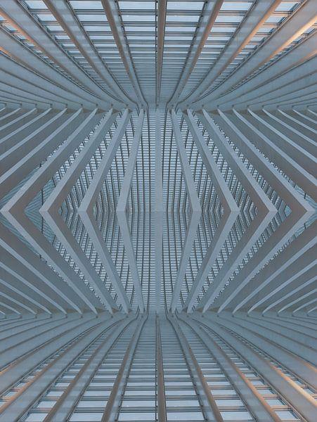 Abstract architectural  van Brian Morgan
