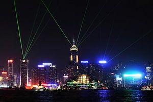 Hong Kong Skyline van