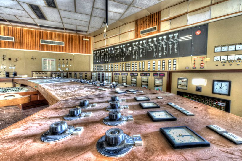 Abandoned power plant Dongecentrale  in The Netherlands Geertruidenberg von noeky1980 photography