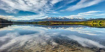 Gebirgssee im Nationalpark des Jaspis von Chris Stenger