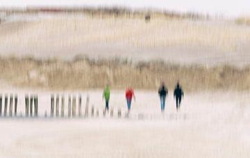 Strandwandeling van Ellen Driesse