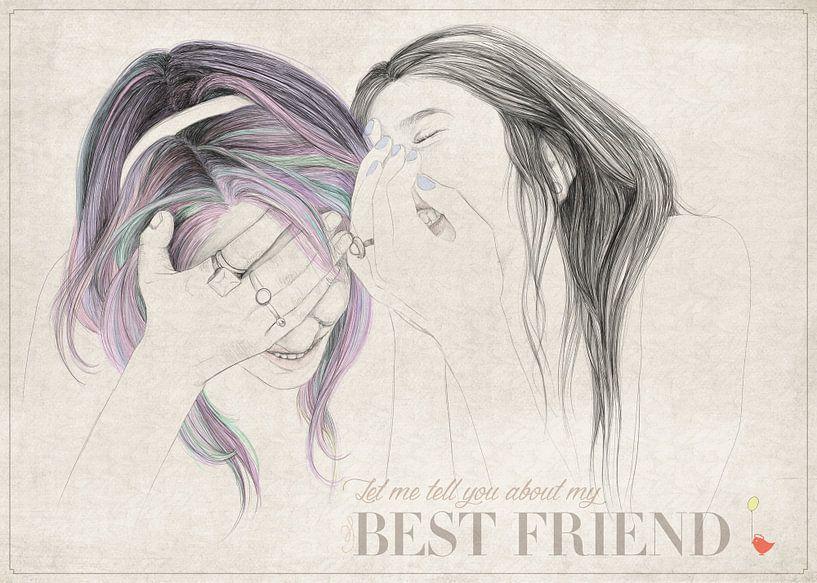 Best Friend van Anne Oszkiel-van den Belt