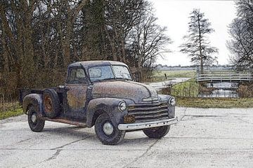 Chevy Pickup van Pieter van Dijken