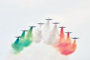 Demonstratieteam van de Italiaanse luchtmacht van Mark Bolijn