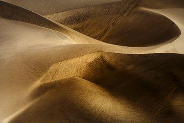 Gouden woestijnduinen van Peter Poppe