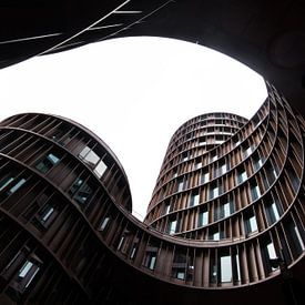 modern gebouw in Kopenhagen van Robin van Maanen