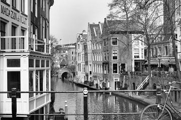 Oudegracht Utrecht von Marcel Boelens