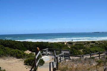 Romantische strandwandeling in de duinen van Bianca Bianca