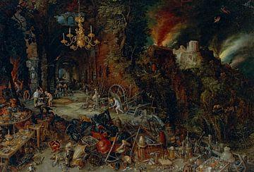 Allégorie du feu, Jan Brueghel l'Ancien sur