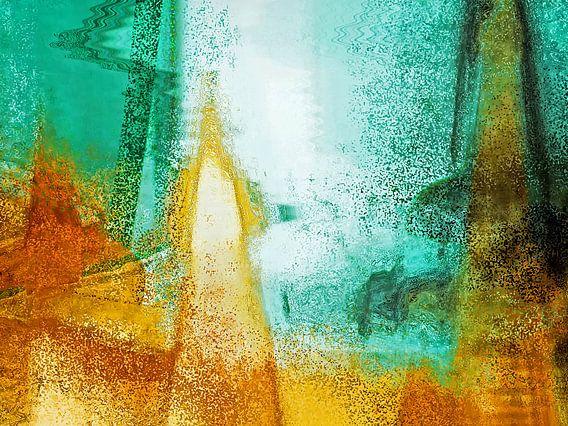 Abstract art 2015/2 7 van Gabi Hampe