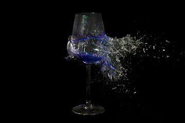 Wijn glas van Rob Hansum