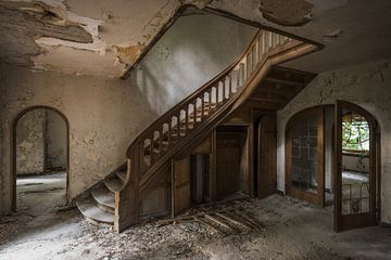 Urbex trap/ urbex staircase von Maarten De Schrijver