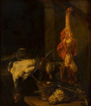 Stillleben mit Wild und Geflügel, Abraham van Beyeren