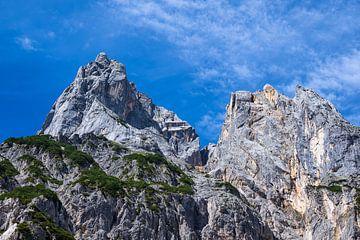 Uitzicht op de Mühlsturzhörner in het Berchtesgadener Land van Rico Ködder