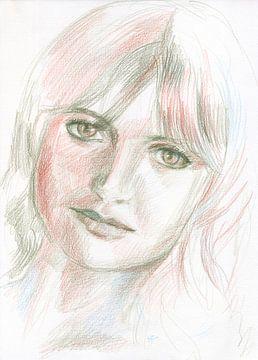 Schuine blik van ART Eva Maria