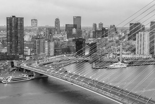 Rotterdam from above van