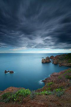 Onweersbui op Cap Dramont van Yannick Lefevre