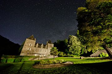 Sterrenhemel bij Chateau du Gibanel van Ricardo Bouman
