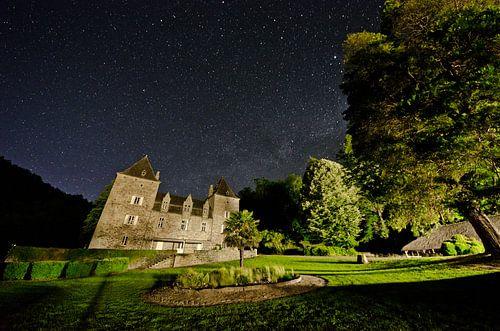 Sterrenhemel bij Chateau du Gibanel