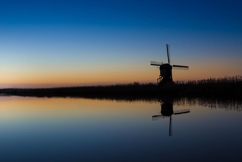 The lonely mill van Brian van Daal