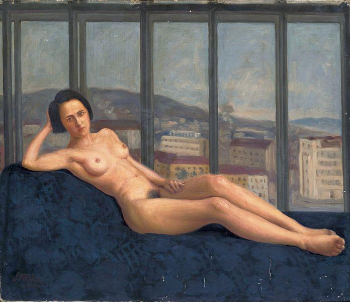 Seltsames Mädchen, Štefan Straka - 1927 von Atelier Liesjes