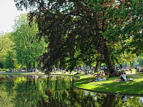 Vondelpark Amsterdam van