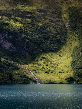 Engstlensee-Wasserfall von Robin Gooijers