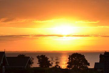 Sonnenaufgang in Dänemark Gronningenhoved von tiny brok