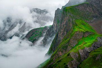 Melkweg boven Kleinvenediger, Oostenrijk van Kees Gort Fotografie