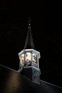 Oberseite der Kirche beleuchten von Wim Elsenaar