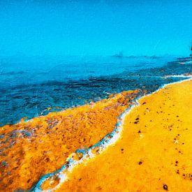 Strandspaziergang von Max Steinwald