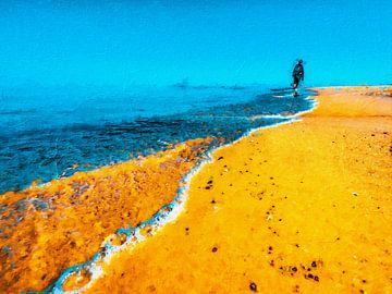 Strandwandeling van Max Steinwald