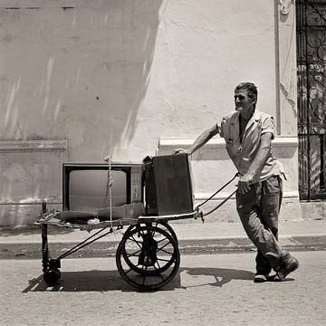 Télévision Homme sur Cor Ritmeester