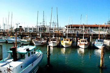 Bateaux, San Francisco, Californie van Samantha Phung