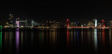 de Skyline van Rotterdam ... van Bert - Photostreamkatwijk