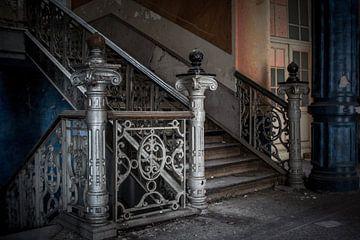verlaten trappen gang van Katjang Multimedia