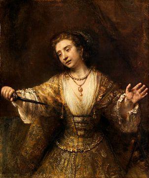 Rembrandt van Rijn Lucretia von Rembrandt van Rijn