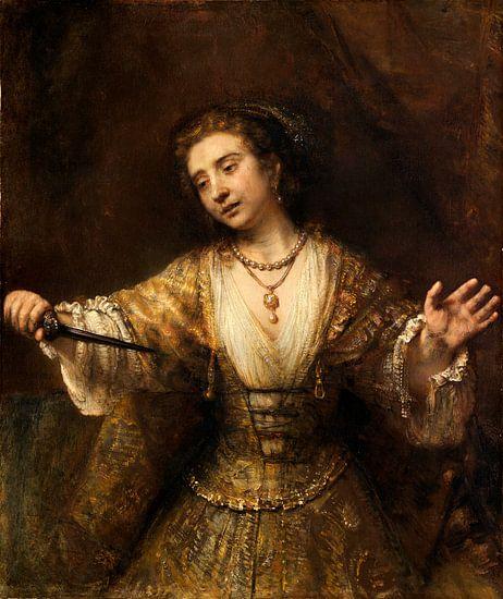 Rembrandt van Rijn Lucretia