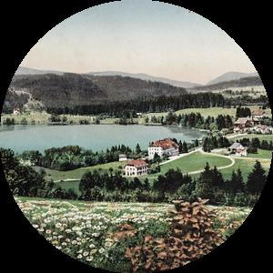 de Titisee meer dan 100 jaar geleden van Jürgen Wiesler