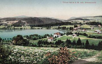 le Titisee il y a plus de 100 ans