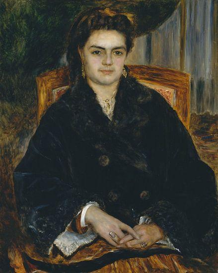 Madame Édouard Bernier (Marie-Octavie-Stéphanie Laurens, 1838-1920), Auguste Renoir