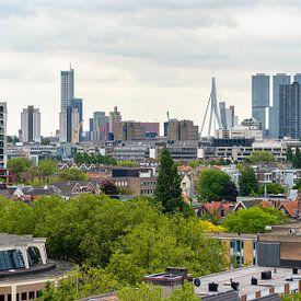Rotterdam Skyline, Nederland. van Lorena Cirstea