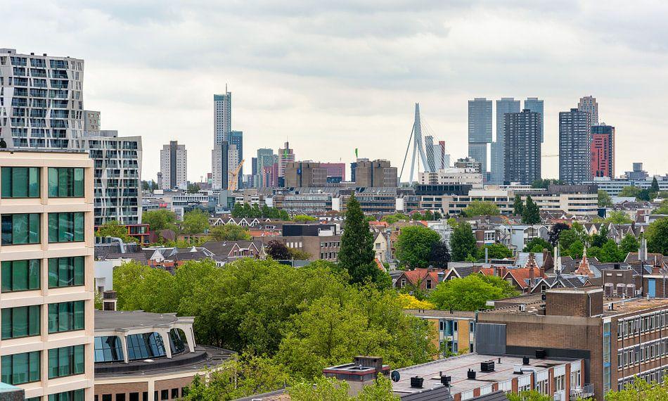 Rotterdam Skyline, Nederland.
