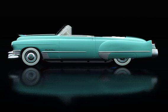 Cadillac Deville 1948 Zijaanzicht