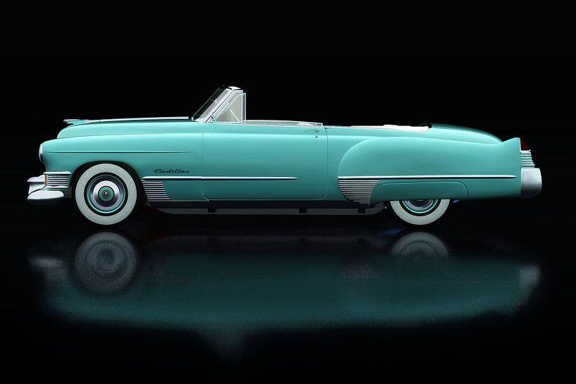 Cadillac Deville 1948 Zijaanzicht van Jan Keteleer